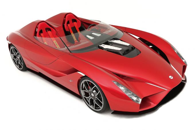 Дизайнер Феррари Enzo построил карбоновый родстер сV12