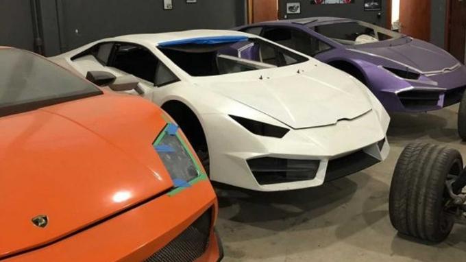 Картинки по запросу В Бразилии обнаружили завод, на котором выпускались поддельные Ferrari и Lamborghini